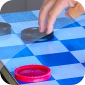 Checkers Online HD - Play English, International, Canadian, & Russian Draughts Board Game (Free)