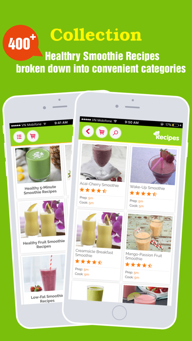 Yummy Smoothie ~ Best of green smoothie recipes screenshot one