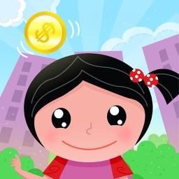 Raining coins: help cute Eve, costumes