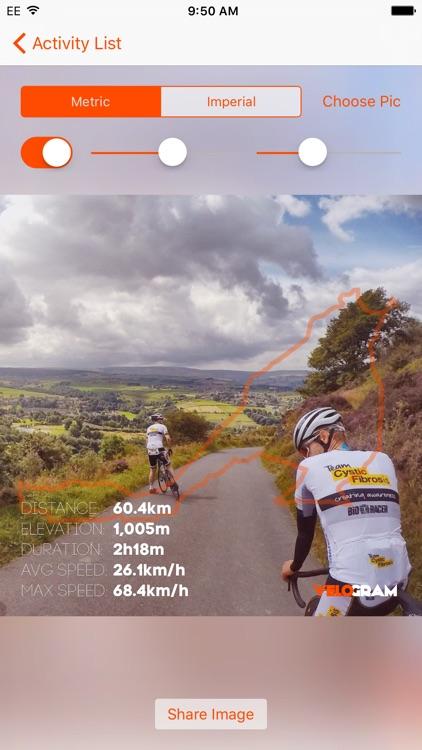 Velogram for Strava Cycling & Running