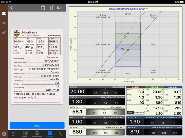 VST CoffeeTools™ for iPad screenshot-3