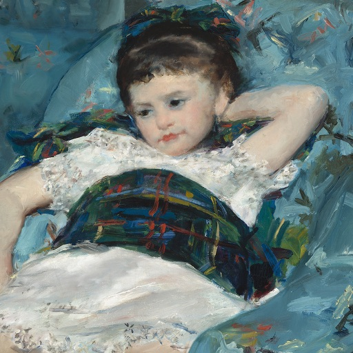 Mary Cassatt exhibition icon