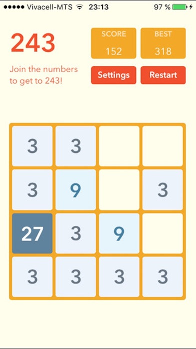 2048 Plus (Fibonacci, themes, sizes) screenshot three