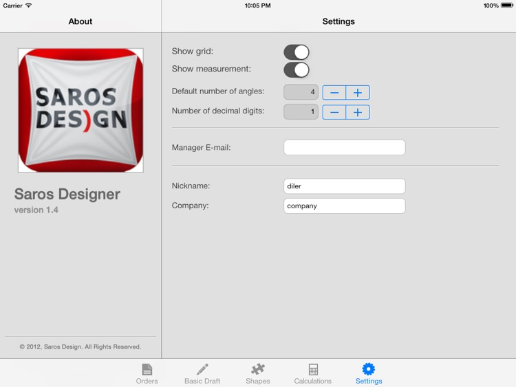 Saros Designer screenshot-0