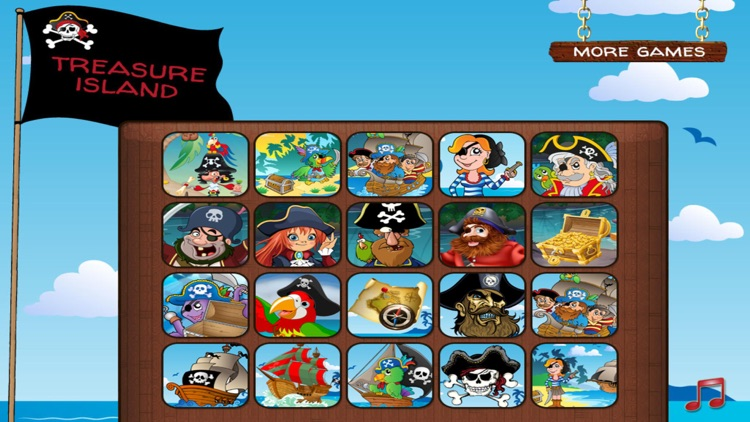 Treasure Island Puzzles screenshot-1