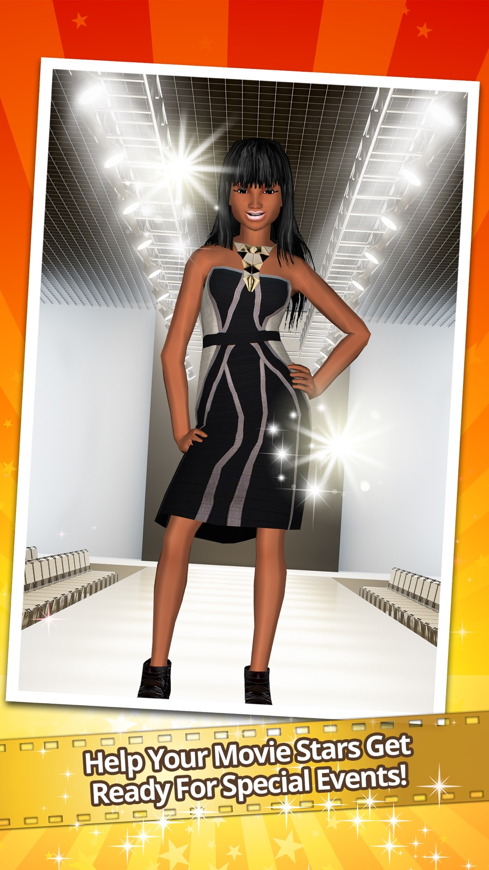 Me Girl Celebs - Dress your way to movie stardom! hack tool