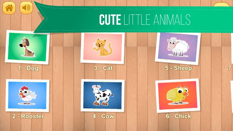 Kids Jigsaw Puzzle World : Animals - Game for Kids for learning screenshot-4