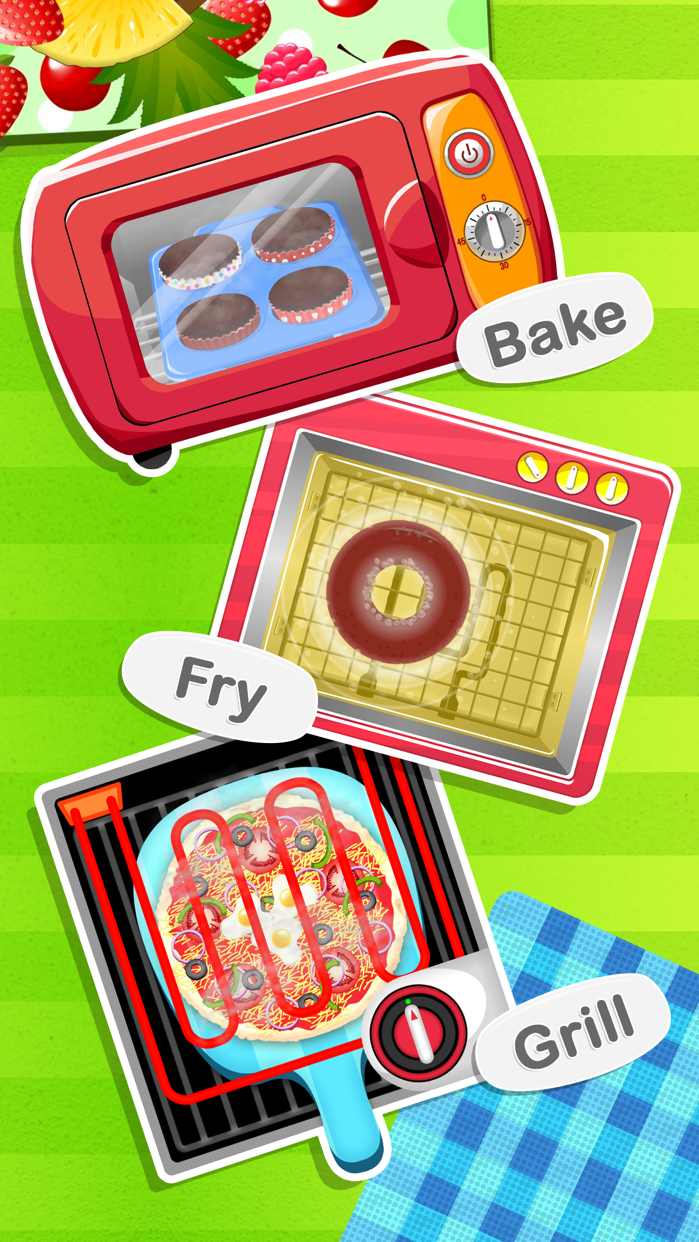 Cooking Games Kids - Jr Chef Screenshot