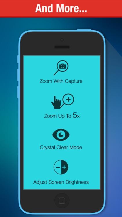Magnifying Glass Pro - (Magnifier + Torch) screenshot-3