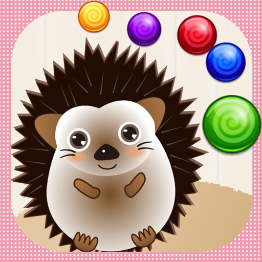 Hedgehog Bubble Shooter