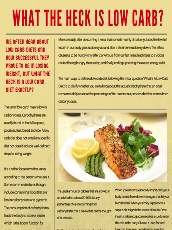 Low Carb Diet Magazine