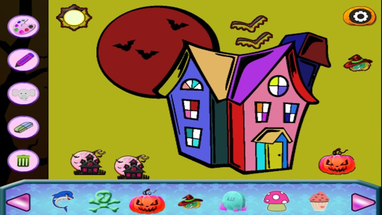 Halloween Drawing For Kids screenshot-3