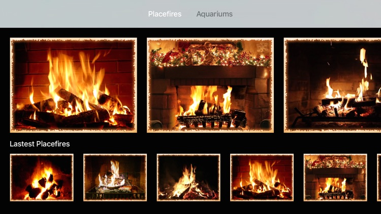 Fireplace apps for Apple TV