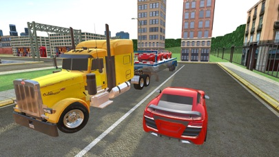 Uphill Cargo Truck Driving 3D - Drive Cargo Truck And Oil Tanker in Offroad & City Environment screenshot one