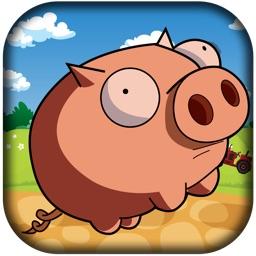 Piggie Ham Run Free - A Pig's Bacon Jump Rush!