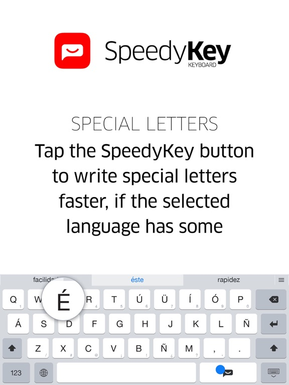 SpeedyKey Keyboard Screenshots