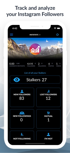 Analytics for Instagram+Likes on the App Store