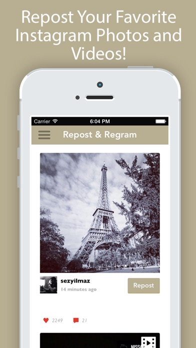 Repost It Pro for Instagram app image
