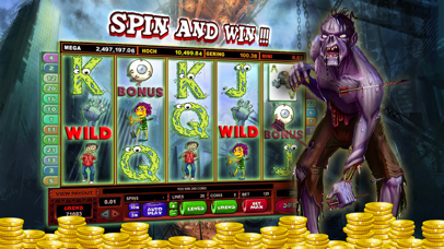 Zombies Slot Frenzy Machines: Undead Scary Casino screenshot two