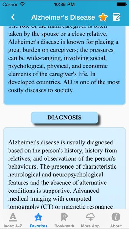 Diseases Dictionary Offline 2017 screenshot-3