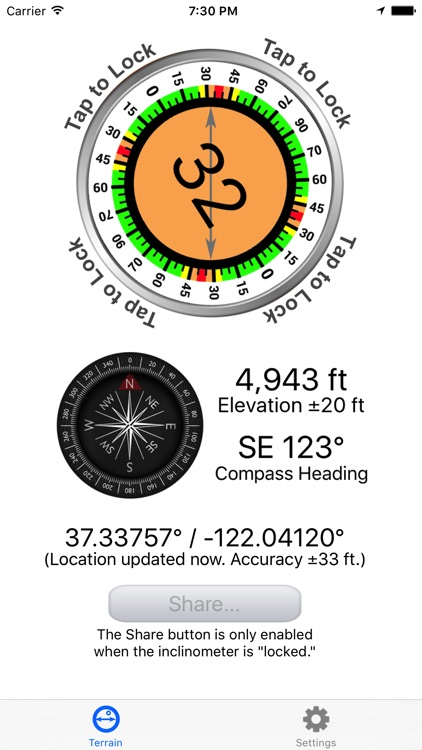 Avalanche Inclinometer