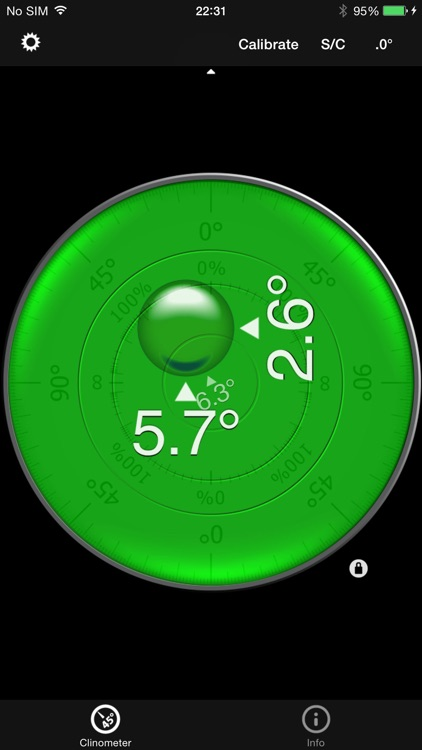 Bubble level and Clinometer screenshot-1
