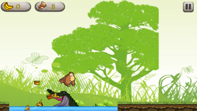 Monkey Run collect bananas - game for fun and kids