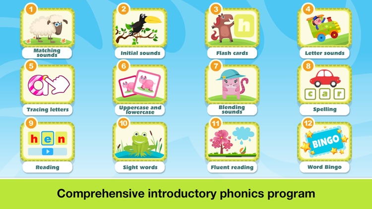 Phonics Fun Farm Games: Letter Sounds, Sight Words