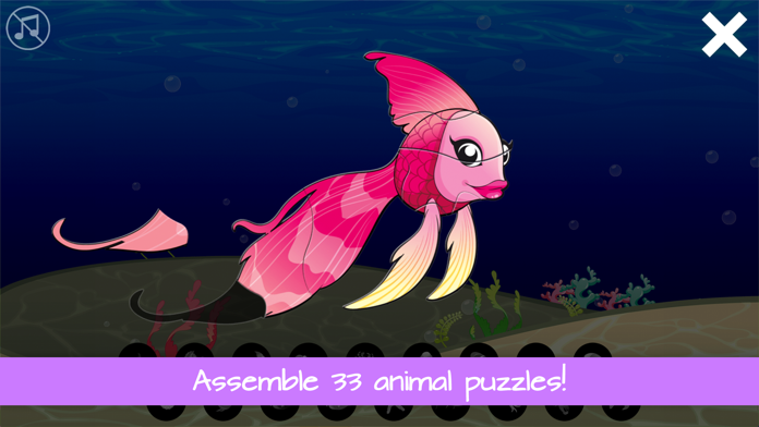 Kids Animal Puzzles and Games Screenshot