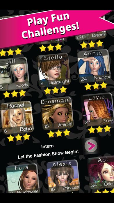 Style Me Girl - Free 3D Fashion Dressup Screenshot on iOS