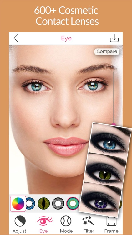Insta Eye Color Changer - Cosmetic,Contact Lenses,Makeup Tool For