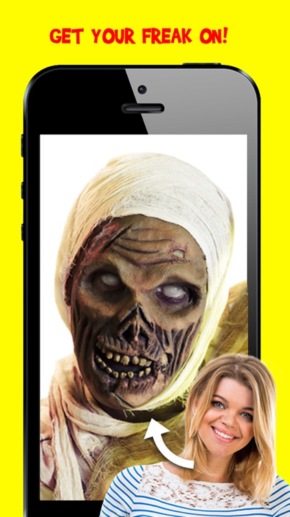Corpse Cam : Zombie Mask Photo Editing Booth App screenshot-3