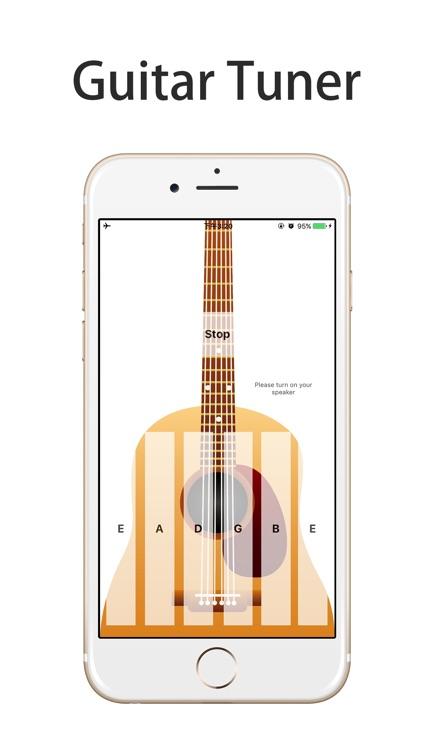Guitar Tuner - Realistic Sound