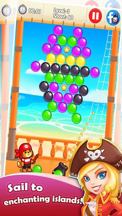 Ball Bubble Ship - Treasure Ocean screenshot two