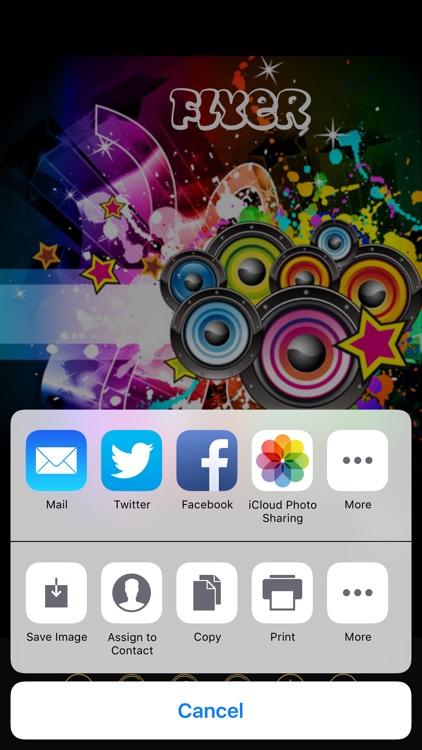 Flyer Maker screenshot-4