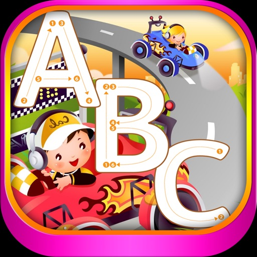 ABC English Letter Tracing PreSchool Activity