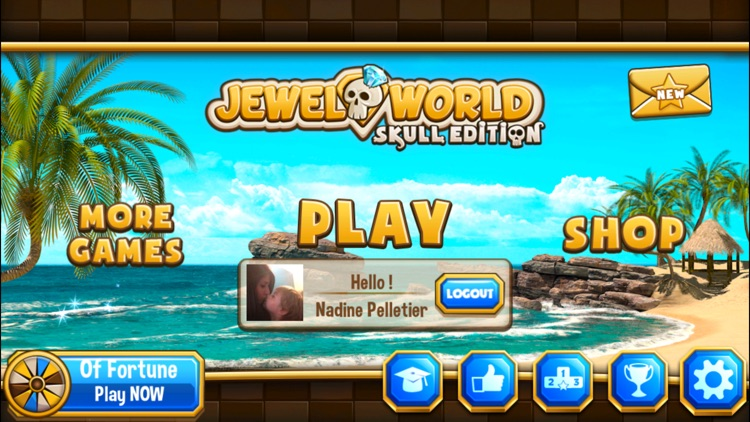Jewel World Skull Edition screenshot-3