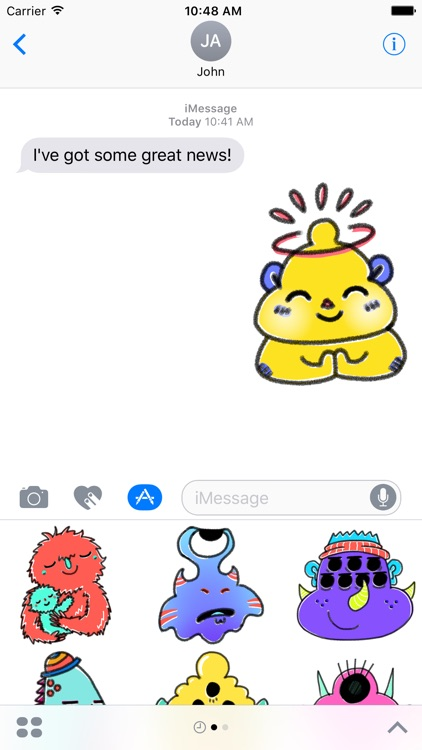 Monstermoji - Emoji Sticker Pack