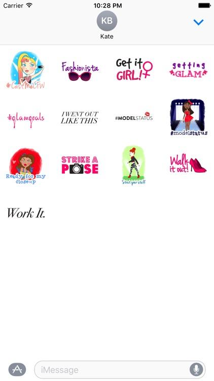 College Fashion Week - Her Campus Stickers