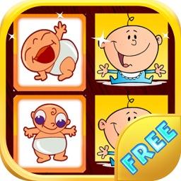 Baby Matching Game - Baby Memory Game