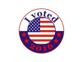 """""""I voted"""" stickers go digital"""
