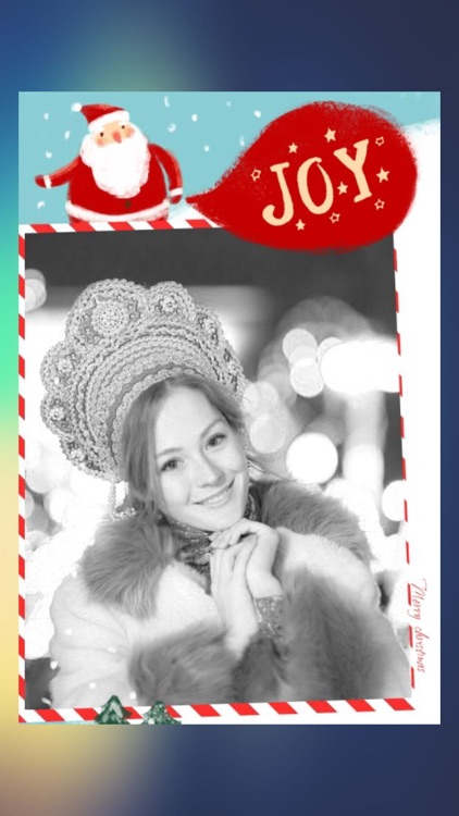 New Year Photo Collage Editor