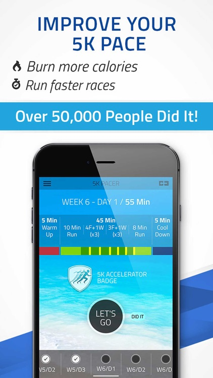 5K Pacer: Run pace training, Run faster