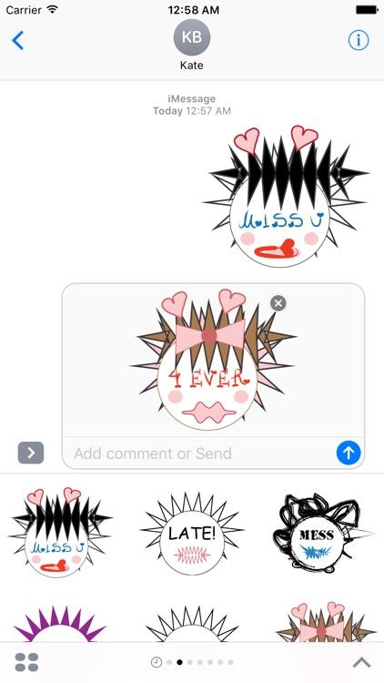 Emotional Emoji Creatures Free Sample Stickers screenshot-4