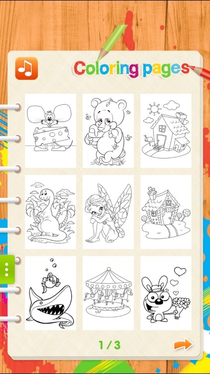 Coloring Pages for Kids !