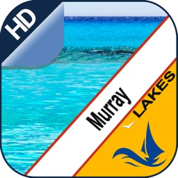 Murray Lake GPS offline nautical chart for boaters