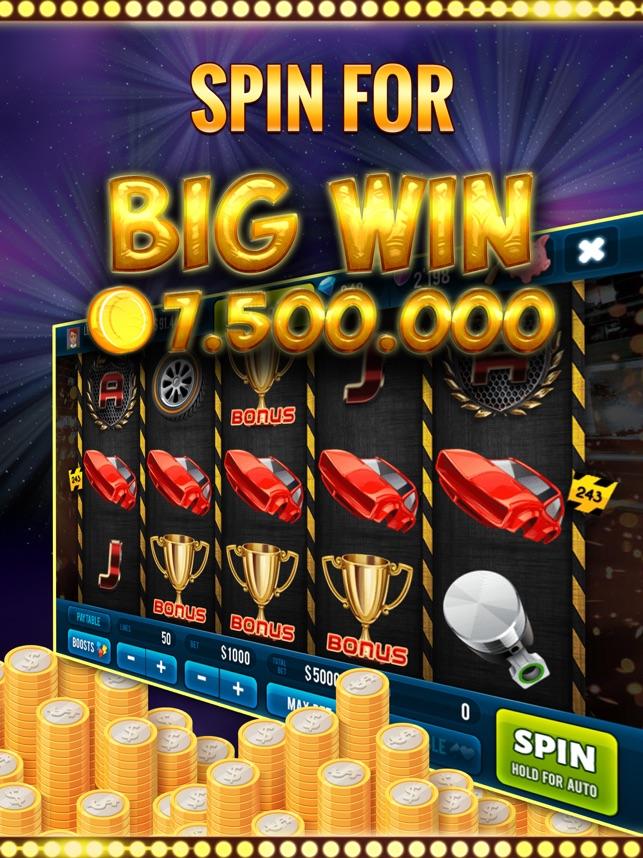 Speed Rush Las Vegas Slots Screenshot