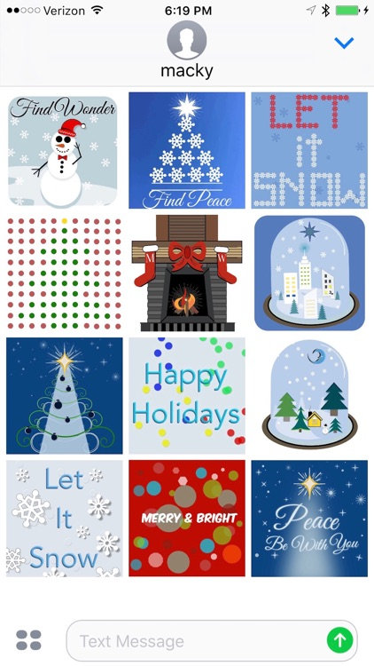 Tis The Season Animated Stickers