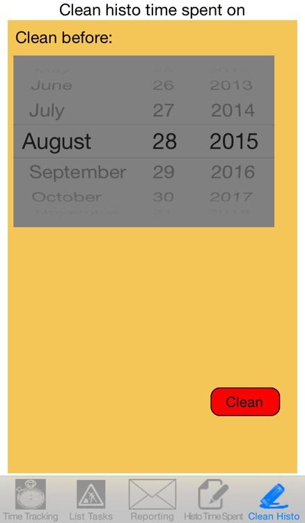 Time Spent Tracking screenshot-4