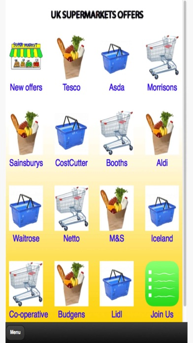 UK Supermarkets Offers screenshot one
